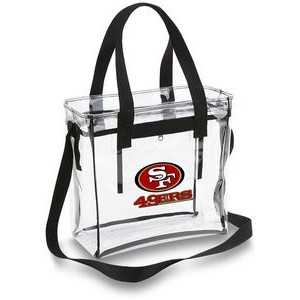 "Clear 12""x12""x6"" Stadium Tote Bag"