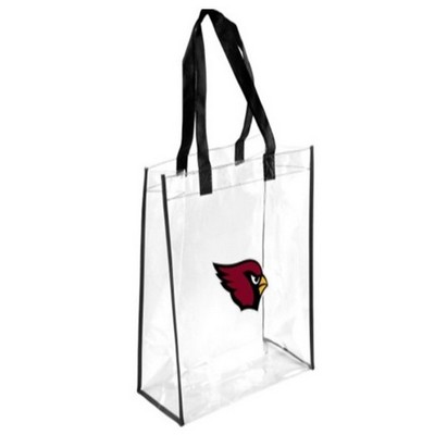 "Large 12"" x 12"" x 6"" Clear Tote Bag - NFL Approved"